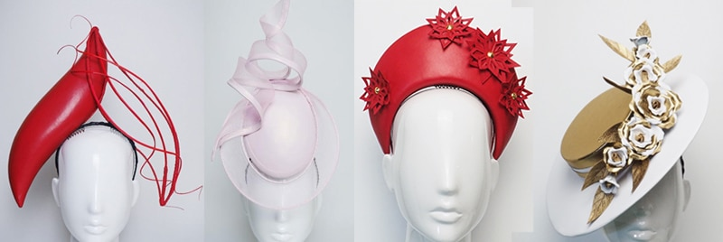allport millinery leather hats