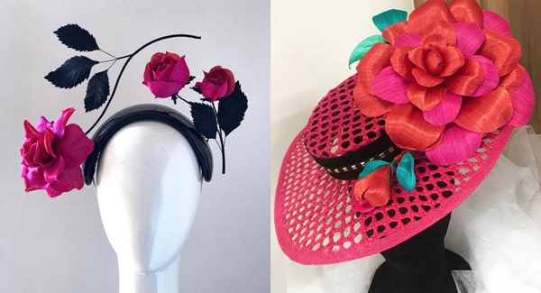designer hats for spring races