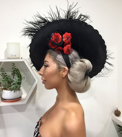 races hairstyle