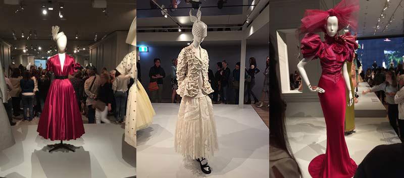 Dior exhibition entertainment