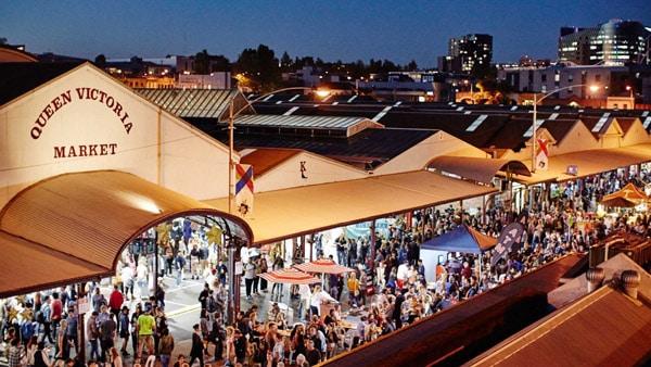 queen victoria market night markets