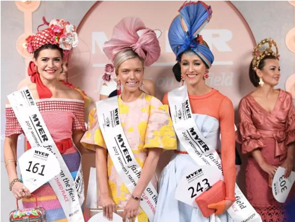 Melbourne cup fashions on the field winners