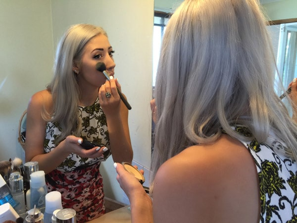 makeup for races
