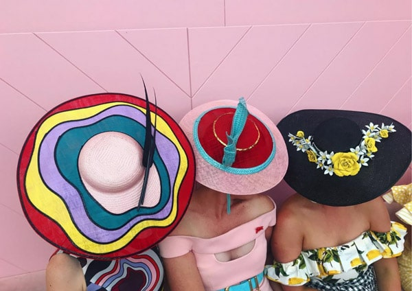 round hats for races
