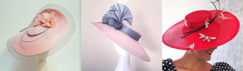 wide brim hat shape