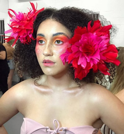 flower head embellishments model