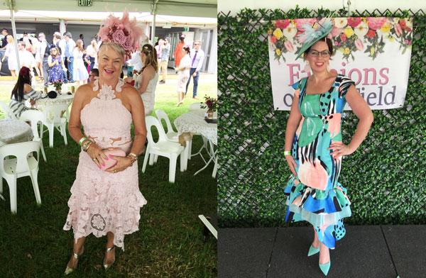 Emerald 100 Race day judging, racewear, trends, dress, outfit, racing fashion, Milano Imai, fashion blogger