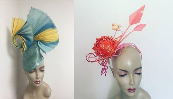 artistic sculptural headpieces