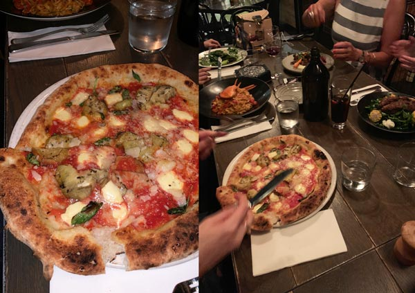 Little Soho pizza restaurant