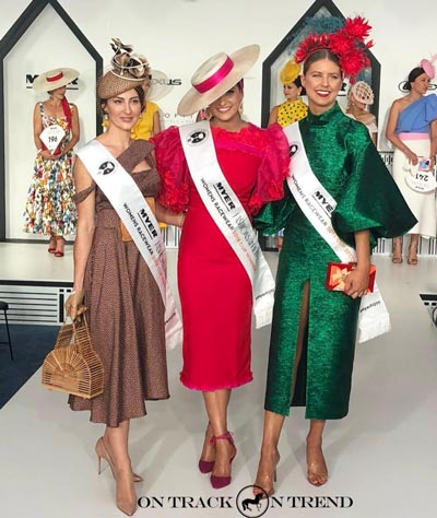 melbourne cup 2018 fashions on the field winners