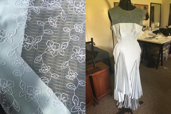 white floral lace fabric delicate feminine