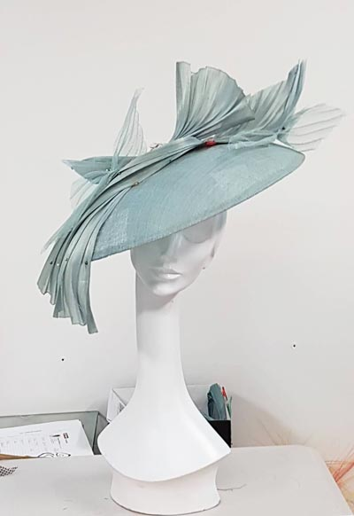 Monika Neuhauser in New Zealand dior brim hat