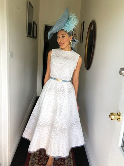 2018 oaks day outfit milano imai hallway of house