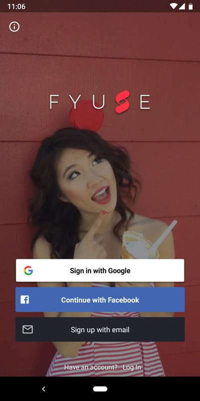 Fyuse App product photography