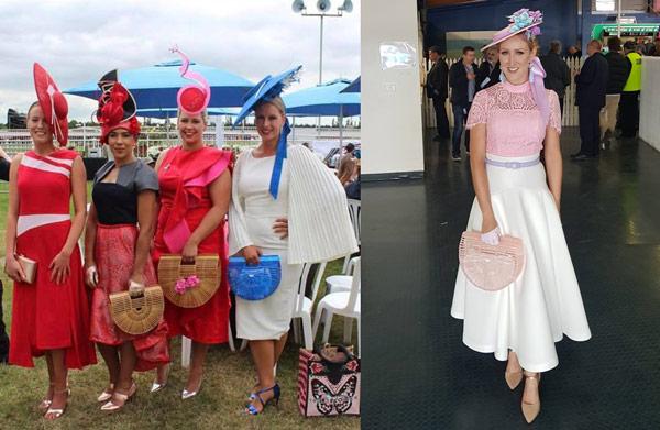 racing fashion cane basket bags