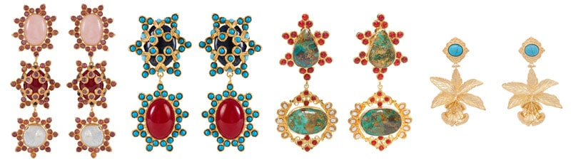 Christie Nicolaides earrings jewellery accessory trend