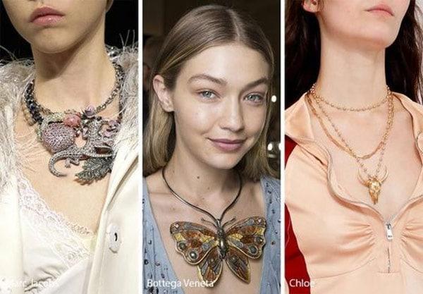 necklace accessory trends butterfly lizard buffalo