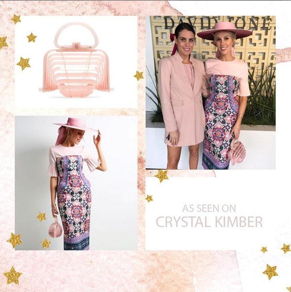 cult gaia crystal kimber pink bag races