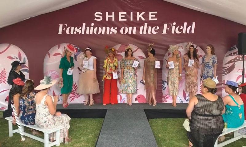sheike fashions on the field competition heats