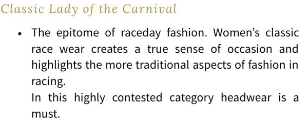 fotf judging criteria for classic lady category