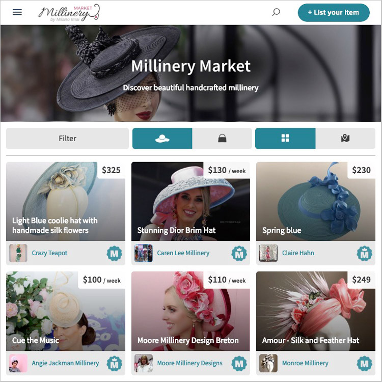 interview with 6 milliners about millinery market