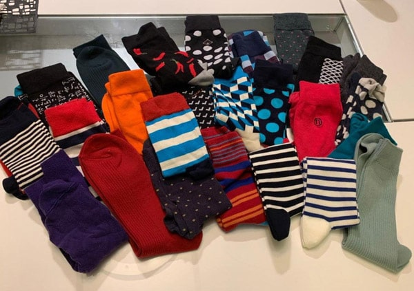 colourful socks