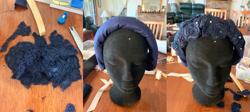make your own fascinator for races