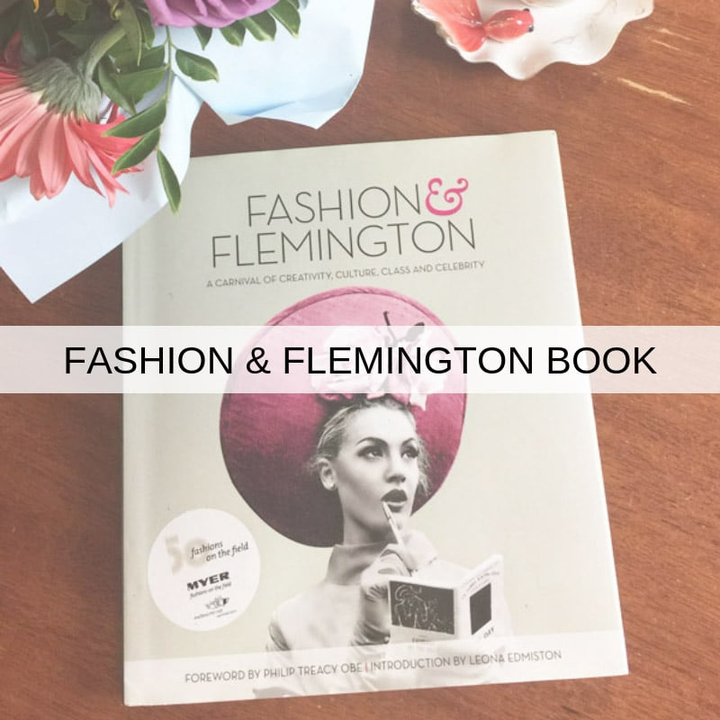 racing fashion melbourne cup coffee table book