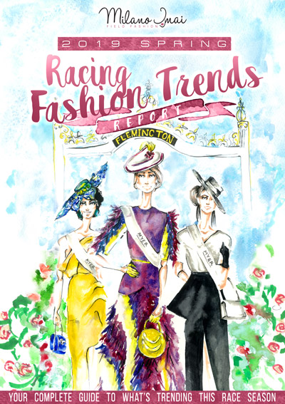 racing fashion trends melbourne cup spring carnival